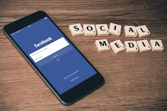 Advertising through Facebook