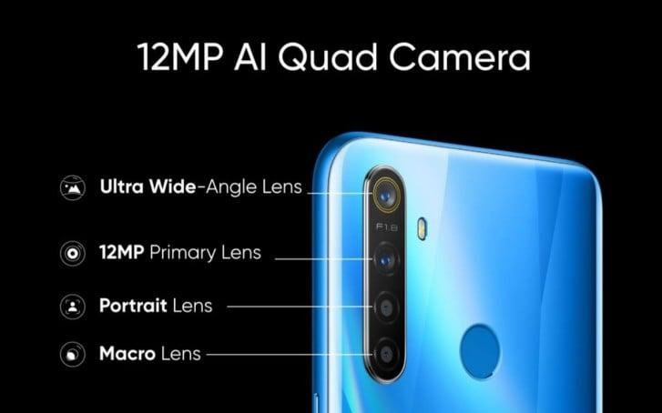 Camera of Realme 5 Pro