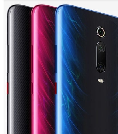Design of Xiaomi Mi 9T Pro