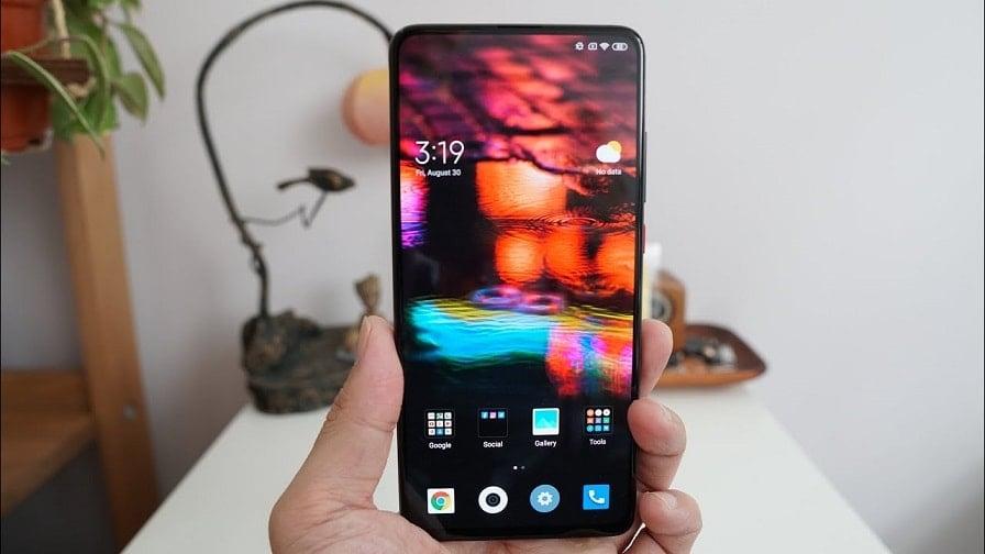 Display of Xiaomi Mi 9T Pro