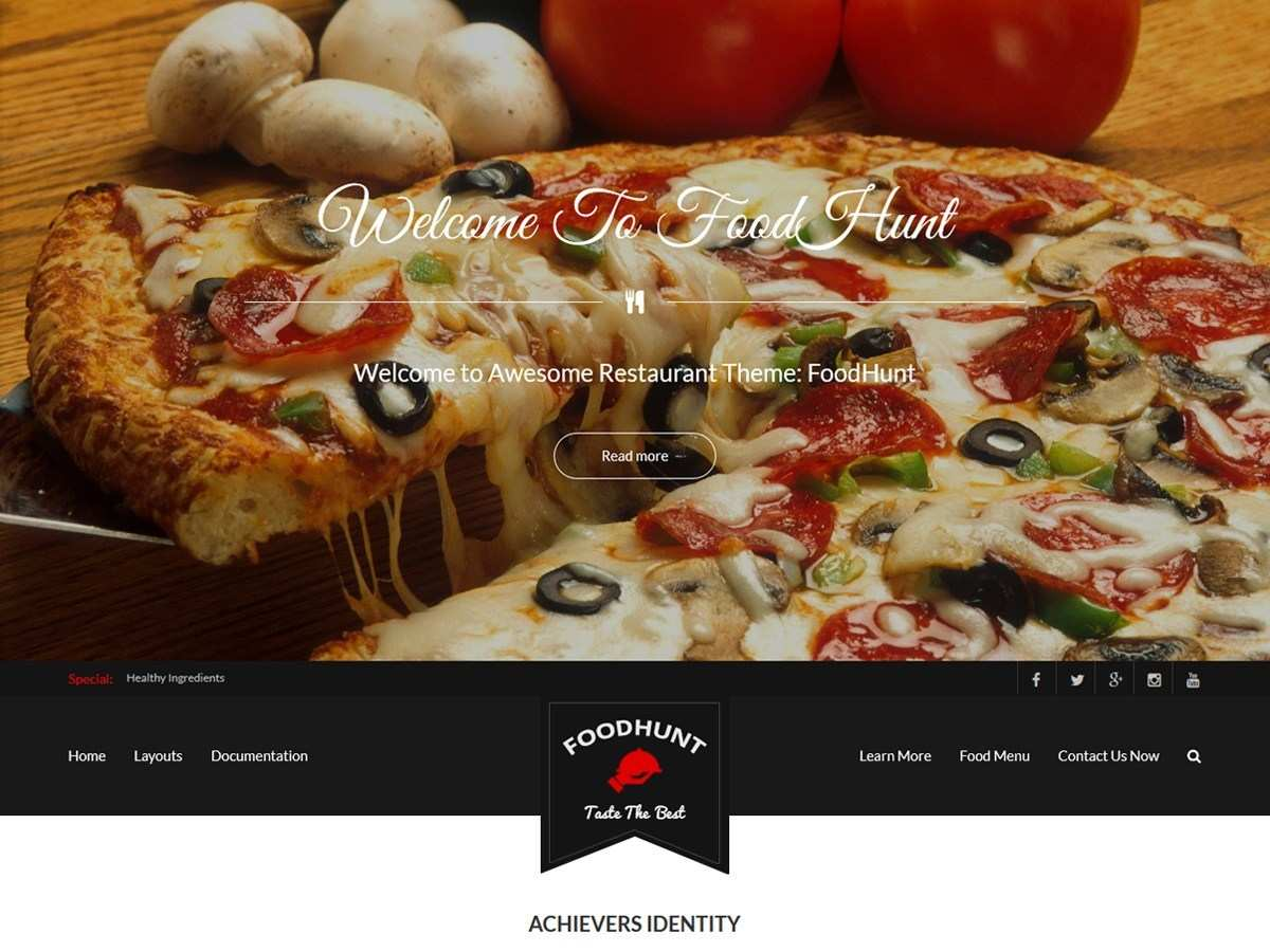 The 10 Best Free Food & Restaurant WordPress Themes - ToptechyTips