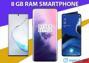 Best 8 GB RAM SMARTPHONE