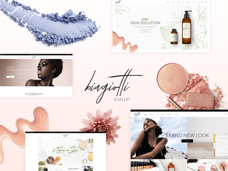 Biagiotti - Beauty and Cosmetics eCommerce Shop