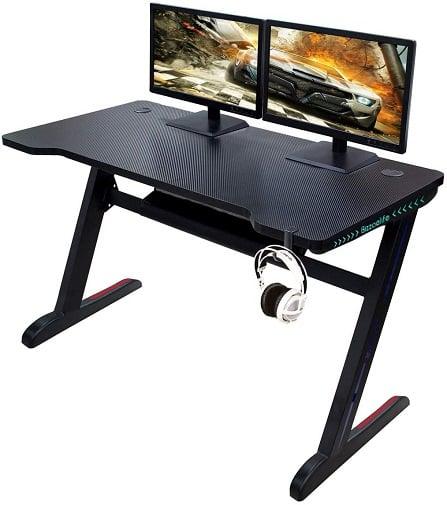 Bizzoelife Ergonomic Gaming Desk