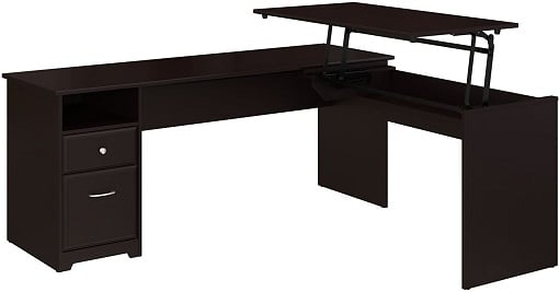 Bush Furniture L-shape Gaming Desk