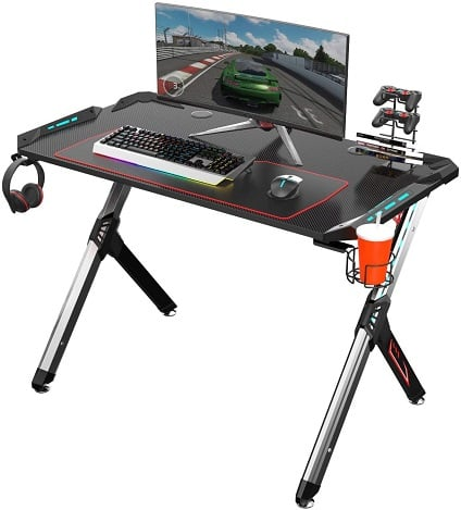 EUREKA ERGONOMIC R1 - S Gaming Desk