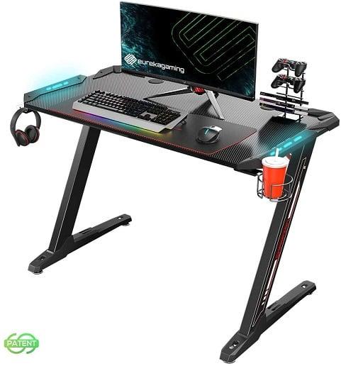 EUREKA ERGONOMIC Z1 - S Gaming Desk