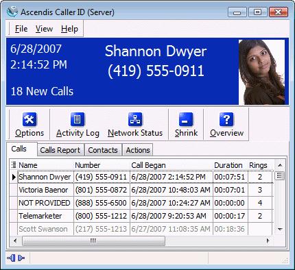 Ascendis Caller ID 3